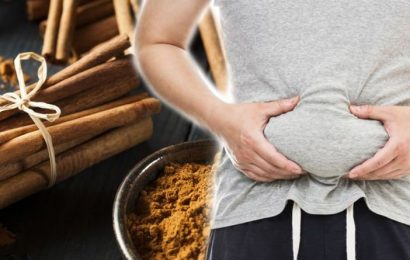 How to get rid of visceral fat: Cinnamon's antimicrobial properties may burn the belly fat