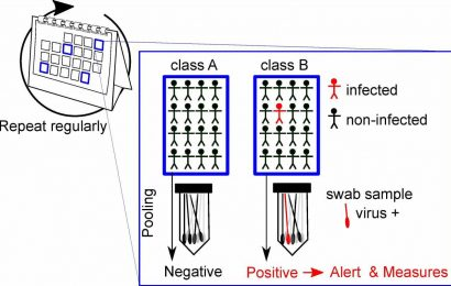 A new strategy for pooling COVID-19 tests to detect outbreaks early