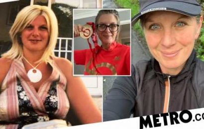Obese woman drops six dress sizes and now completes a half-marathon every month