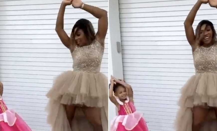 Getting Their Groove on! Serena Williams' Best Pics With Daughter Olympia