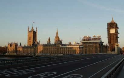 AP PHOTOS: UK reflects on death toll a year after lockdown