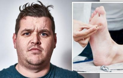 Diabetes: Four foot changes that require urgent medical attention