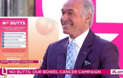 Dr Hilary lists main symptoms of bowel cancer using the acronym 'BOWEL' – what to look for