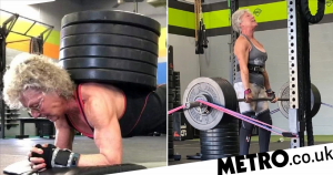 Powerlifting grandma says she feels better now than 30 years ago