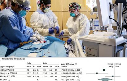 Shorter ICU stay for patients with an earlier breathing tube procedure