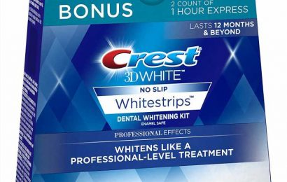 If You Act Fast, You Can Get Crest Whitestrips for 44% Off on Amazon
