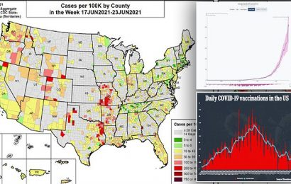 US counties see increase in COVID cases as Delta variant takes hold
