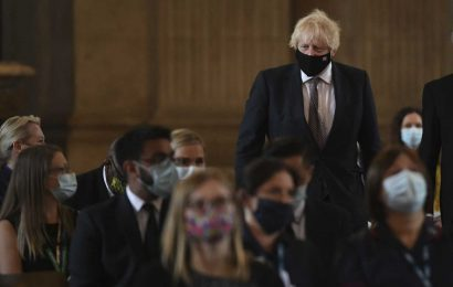Johnson says UK must live with virus as he announces easing