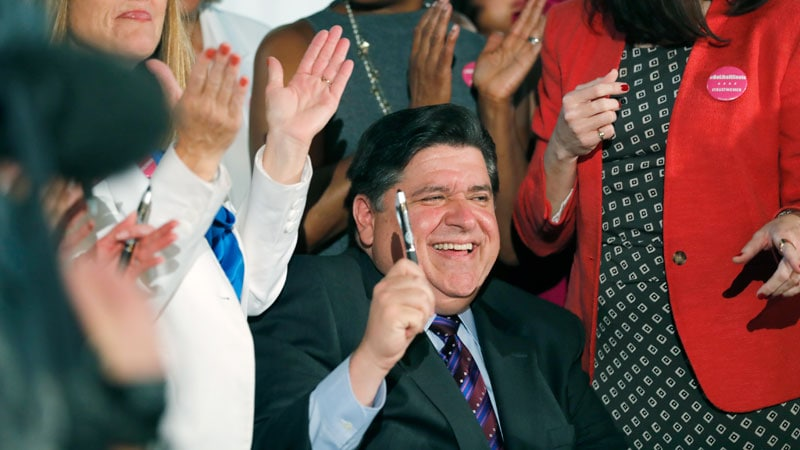 Gov Pritzker Vows to Protect Abortion Rights in Illinois