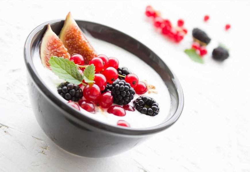 Probotic-containing yogurt protects against microbiome changes that lead to antibiotic-induced diarrhea