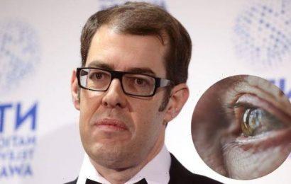 Richard Osman health: The Pointless presenter's 'wobbly' eye condition – symptoms
