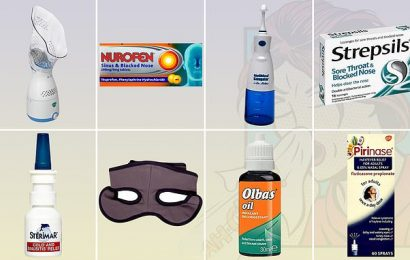 The remedies for a stuffy nose that are not to be sniffed at!