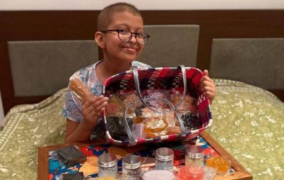 This 11-year-old cancer warrior is raising funds for other kids like her